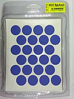 Заглушка самоклейка до минификсу WEISS синя 9023