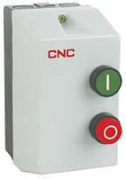 Пускатель электромагнитный в корпусе с тепловым реле LE1-18, АС-3, 7,5кВт, реле 12-18А, 220В, 18А, CNC, фото 1