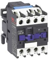 Пускатель электромагнитный CJX2-2510, 25A, АС3, 24В, 1NO, 11кВт, минимальное содержание серебра 85%, CNC, фото 1