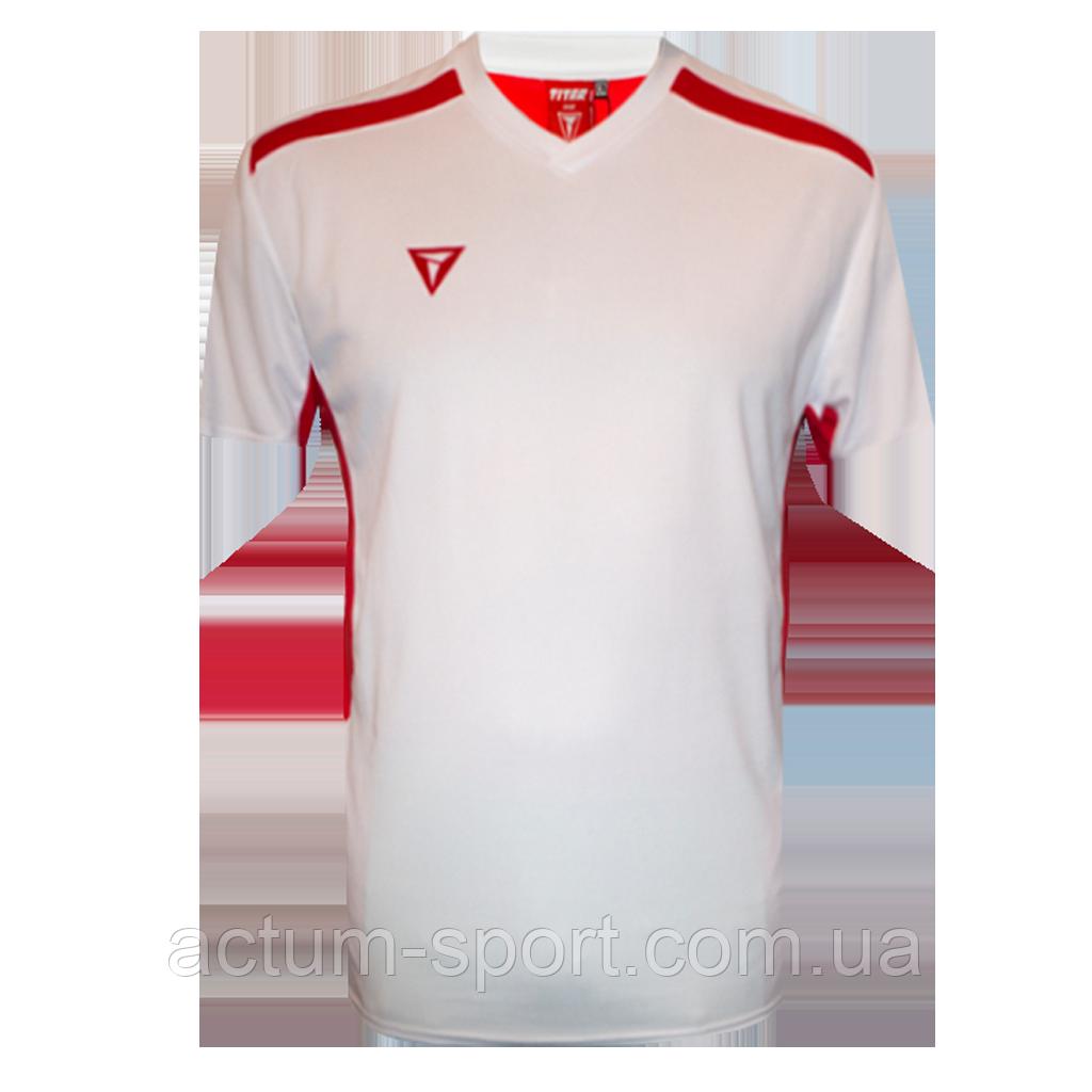 Футболка игровая Futsal Titar Бело/красный, M