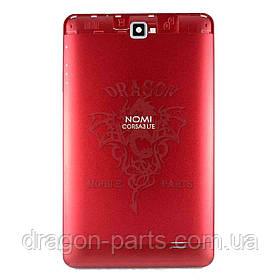Задняя крышка панель Nomi Corsa 3 LTE C070030 красная, оригинал