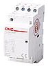 Пускатель модульный YCCH6-25, 4P, 220В, 4NO, 25A, CNC