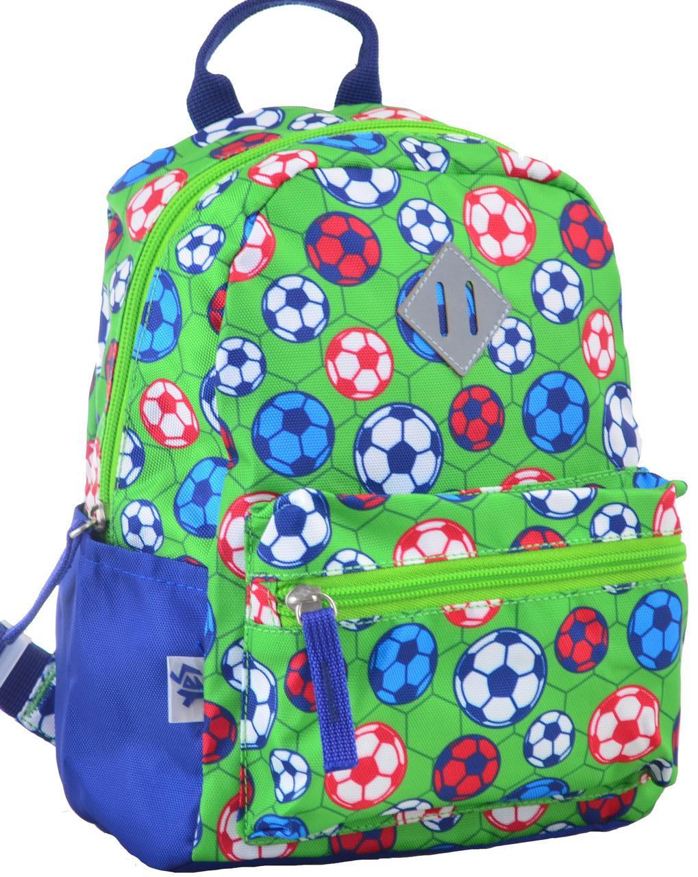 Рюкзак детский Yes! K-19 Football 555311 5 л Зеленый