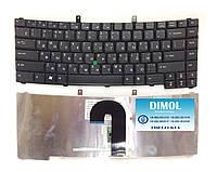 Оригинальная клавиатура для ноутбука Acer TravelMate 6410 series, ru, black