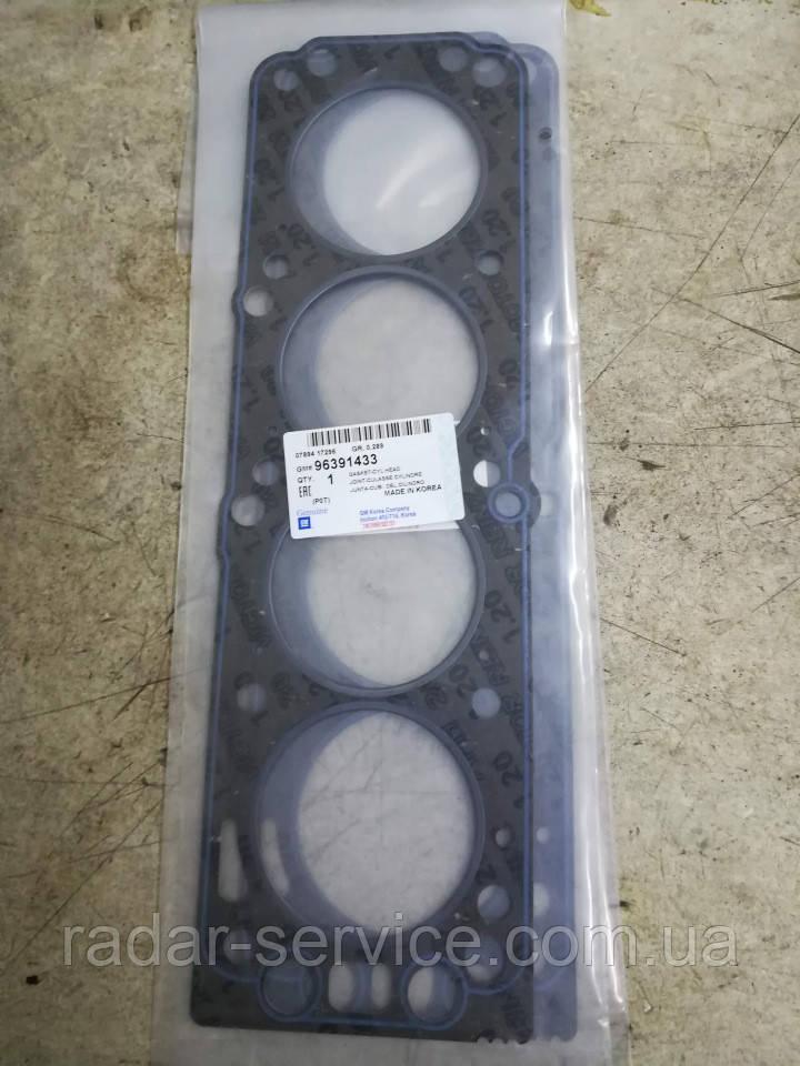 Прокладка ГБЦ 1.5L-8кл.SOHC, 96391433, GM