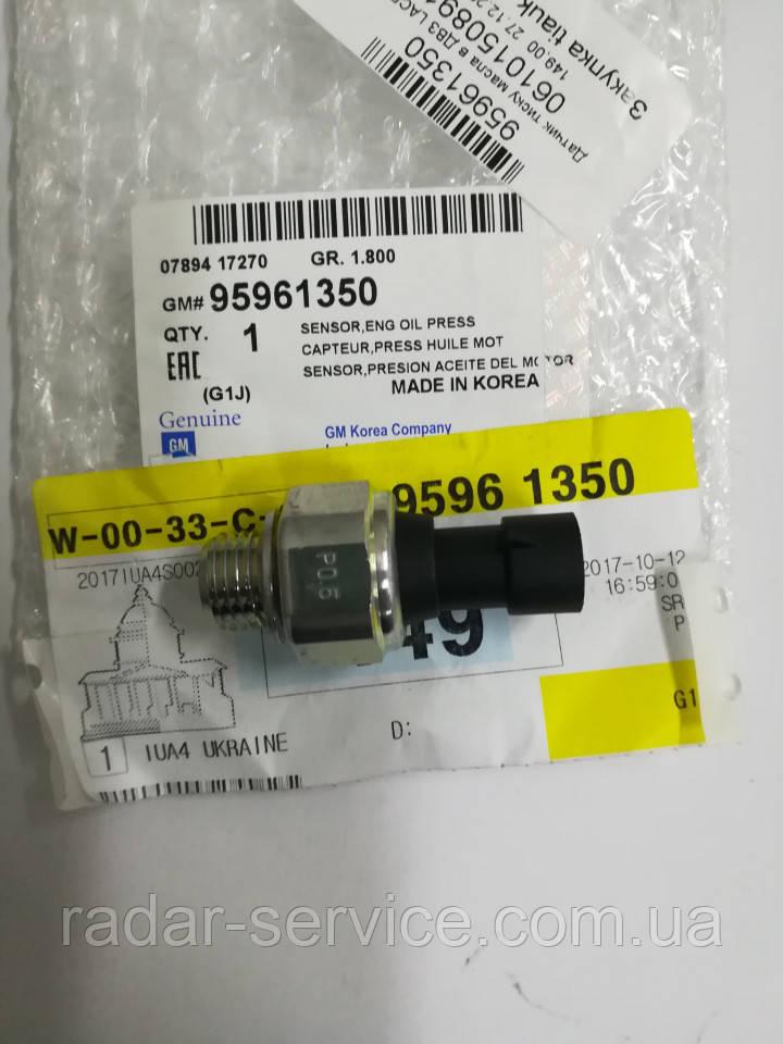 Датчик давления масла, Лачетти J200, 95961350, GM