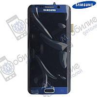 Дисплей Samsung S6 Edge (модуль экран + тачскрин) G925 Black, GH97-17162A