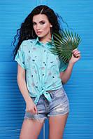 Рубашка Polly ментол, фото 1