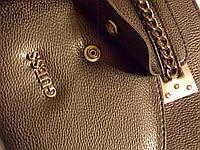 Стильная Черная Женская сумка-клатч GUESS