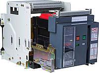 Повітряний вимикач BA79E-4000, 4000А, 3P, 415V (100kA), з електронним блоком управління стаціонарний, CNC
