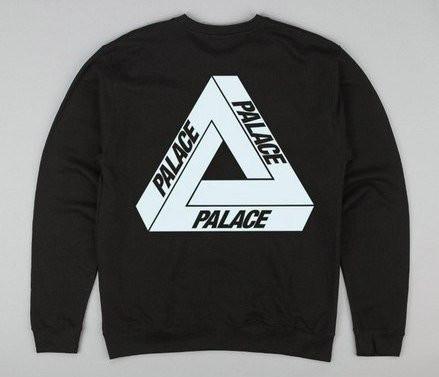 Свитшот с принтом Palace Logo Толстовка мужская | Качественная реплика