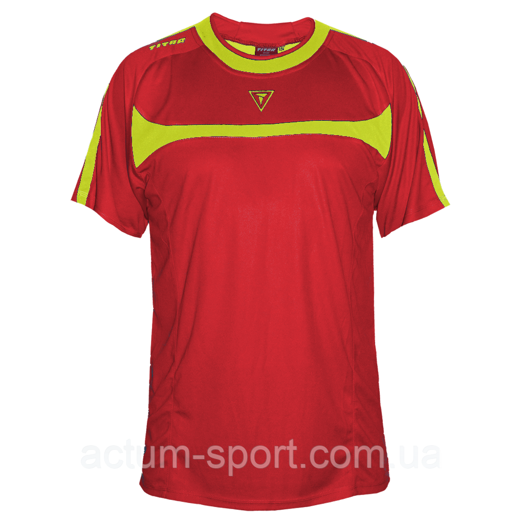 Футболка игровая Arsenal Titar Красно/желтый, XXS