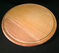 Доска разделочная под пиццу (бук) d 35 см