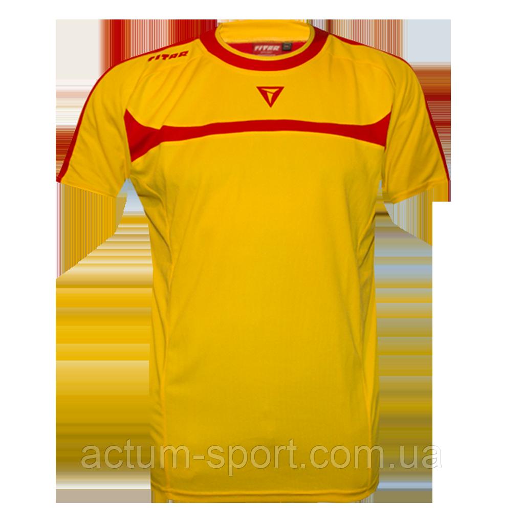 Футболка игровая Arsenal Titar Желто/красный, XL