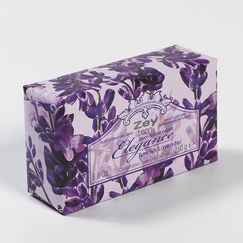 Оливковое натуральное мыло  Lavender /Лаванда / ZeyTeen Elegance, 250г