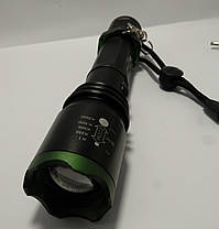 Ліхтар тактичний Poliсe 12V BL-1822 CREE T6, zoom, фото 2