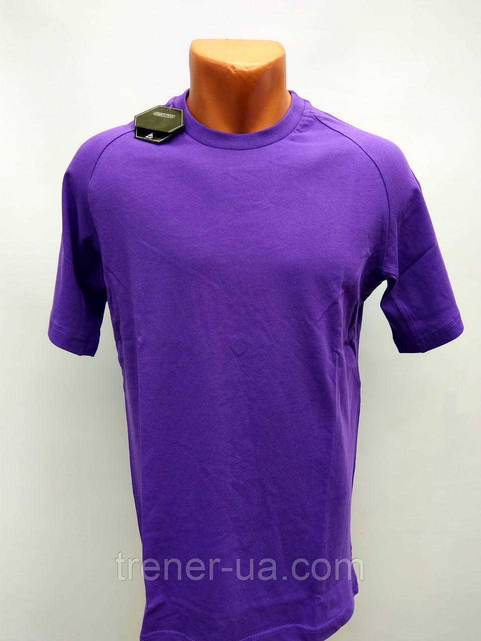 Футболка чоловіча фіолетова у стилі Select