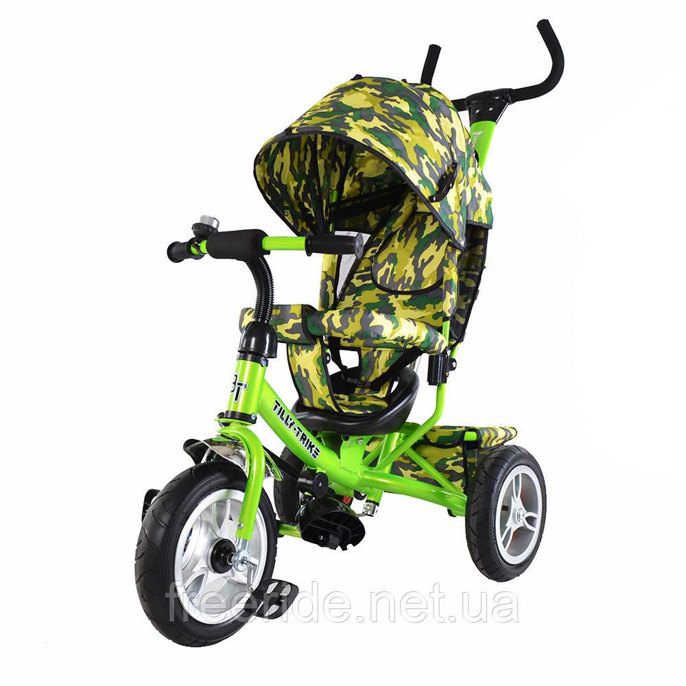 Детский трехколесный велосипед TILLY Trike T-351-8 AIR