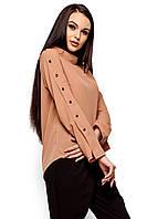 Легкая блуза Вермут бежевый (S,M,L)