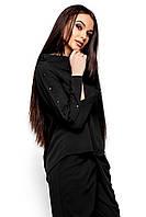 Легкая блуза Вермут черный (S,M,L)