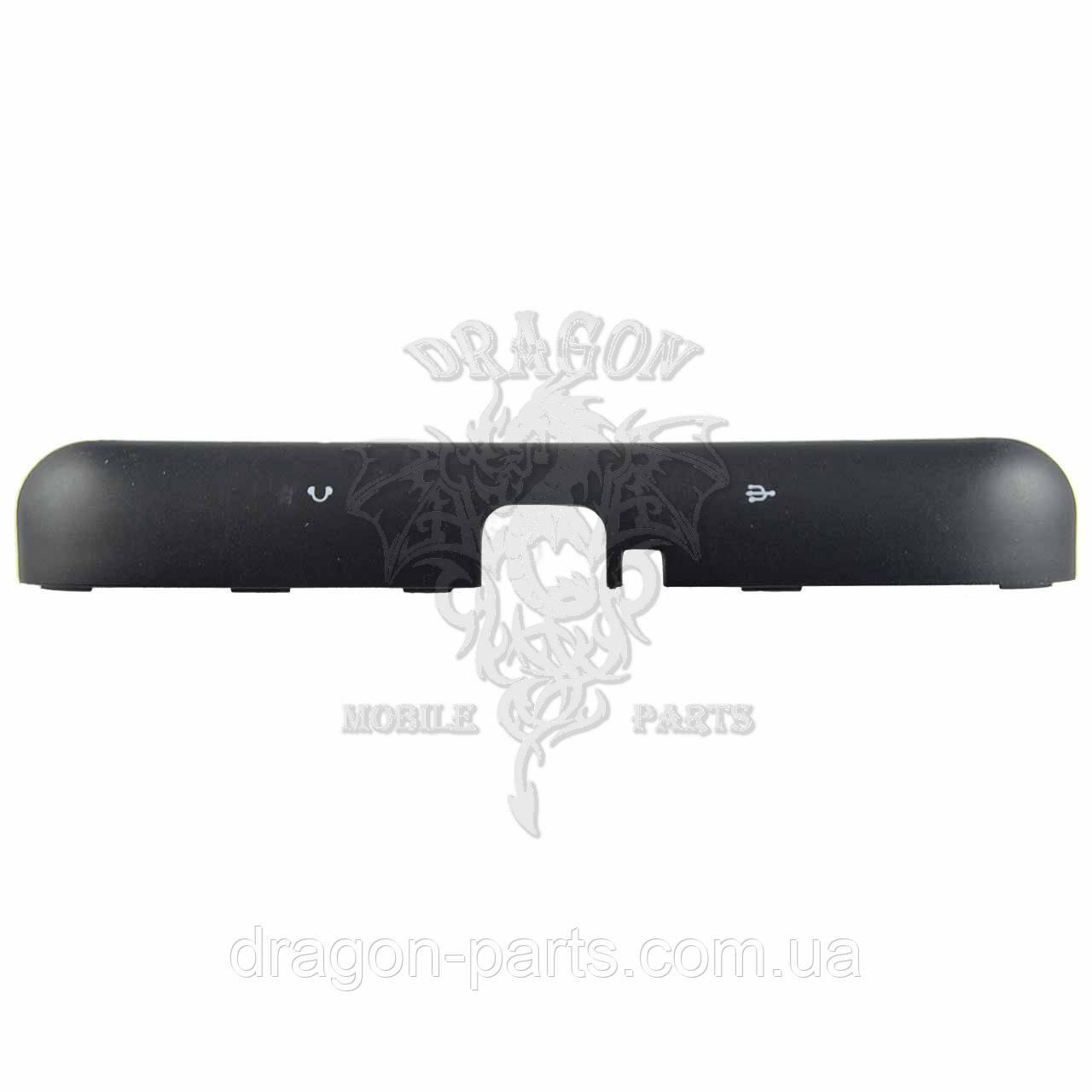 Крышка разъемов сим и карты памяти Nomi Corsa 3 LTE C070030 черная, оригинал