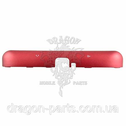 Крышка разъемов сим и карты памяти Nomi Corsa 3 LTE C070030 красная, оригинал, фото 2
