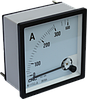 Амперметр аналоговый YC-А96, 2500/5А, 96x96мм, АС, класс 1,5, подключение через трансформатор тока, CNC