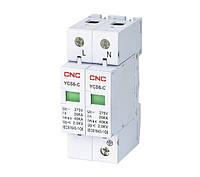 Обмежувач імпульсних перенапруг на DIN-рейку YCS6-З, 2Р (1P+N), CNC