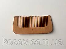 Деревянная расческа 11х5см (прямая)