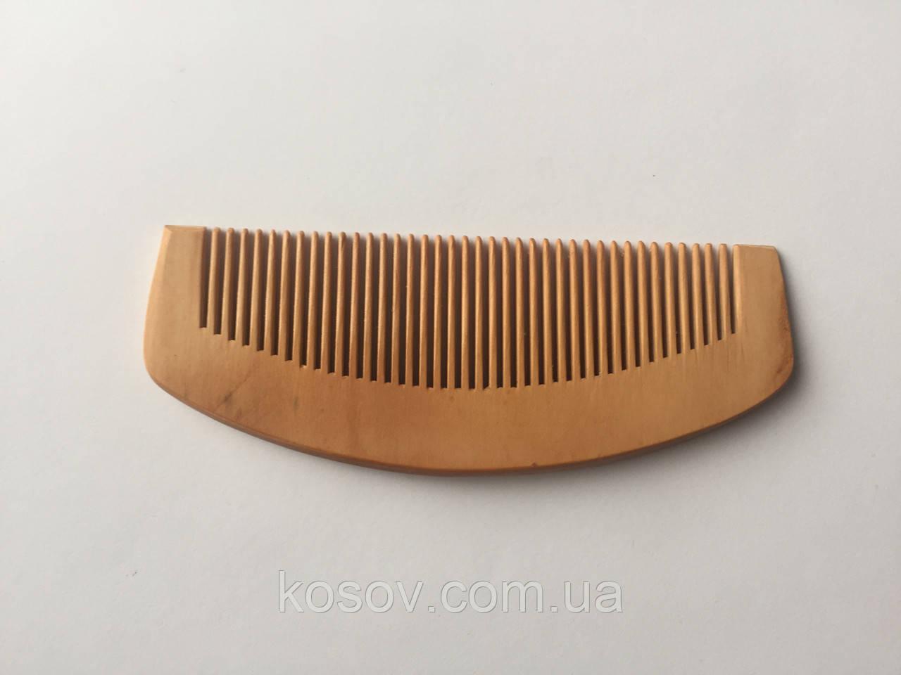 Деревянная расческа 14х5см (дуговая)