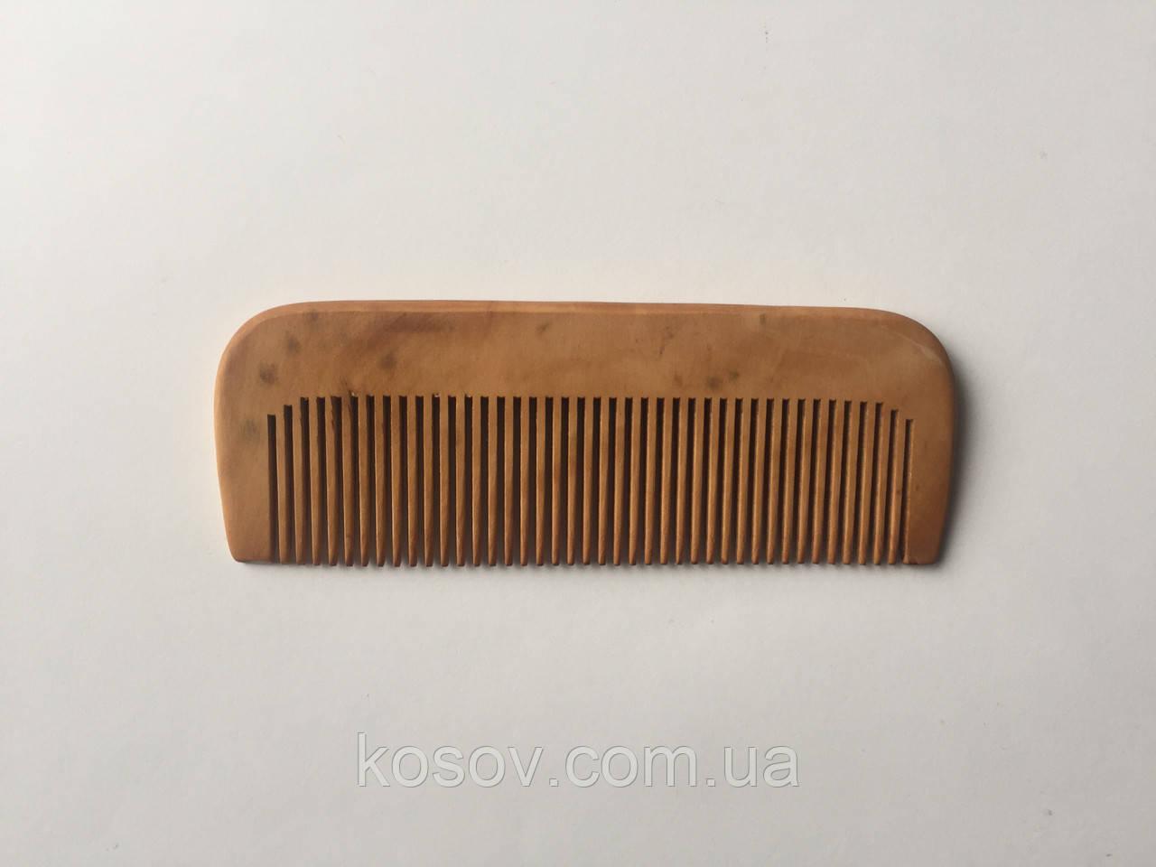 Деревянная расческа 14х5см (прямая)
