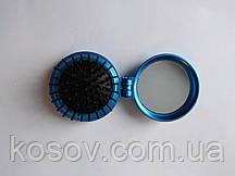 Расческа-масажка раскладная 13х6см (синяя)