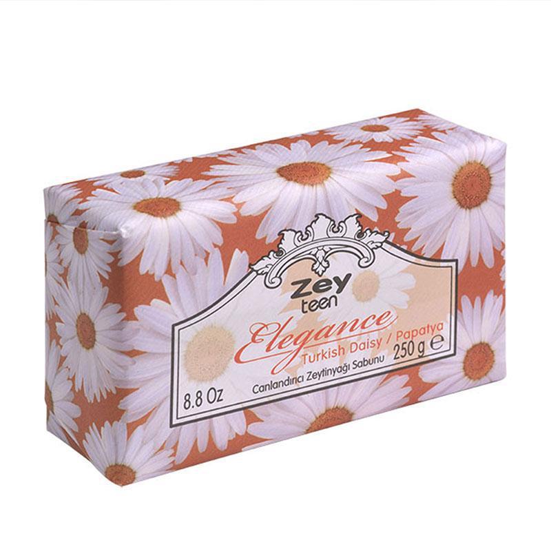 Оливковое натуральное мыло Daisy /Ромашка /ZeyTeen Elegance, 250г