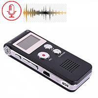 Диктофон 8Гб профессиональный + MP3 плеер
