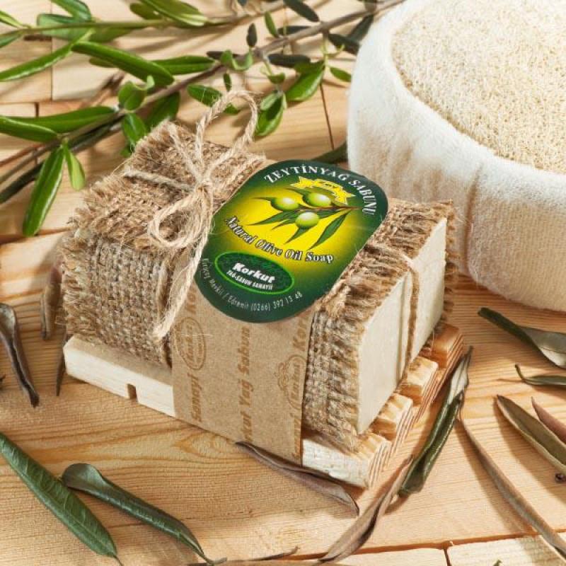 Оливковое натуральное мыло Korkut Olive Oil , 180г