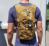 Рюкзак для питної системи (без гідратора) (ta10-coyote), фото 2