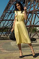 Летнее женское платье лимон (M-XL), фото 1