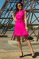 Летнее женское платье малина (S-L), фото 1