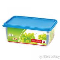 Прямоугольный пищевой контейнер EMSA SNAP&CLOSE 3,5 л (EM508583)