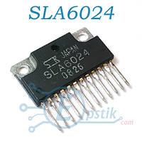 SLA6024, транзисторная сборка, PNP + NPN, 60В, 8А