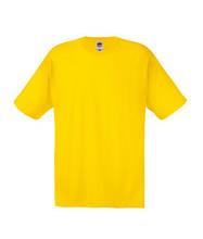 Футболки мужские желтого цвета