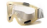 Очки защитные на резинке строительные