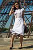 Женское платье белый цвет (M-XL)