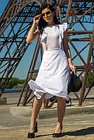 Женское платье белый цвет (M-XL), фото 1