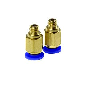 Цанга  Ф4мм с резьбой М6 для подключения MK7 MK8 и экструдера
