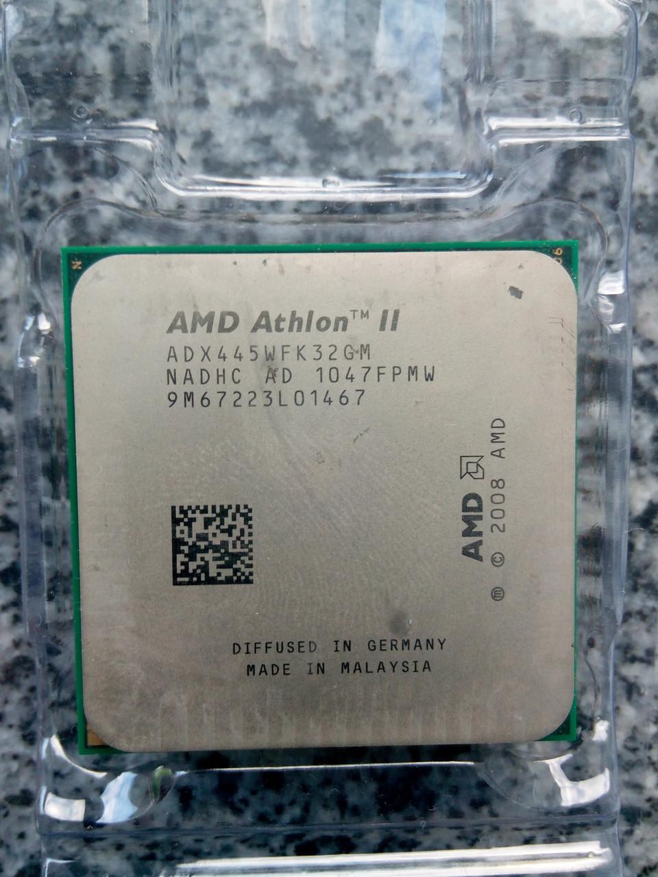 Amd Athlon Ii X3 445 31 Tray 440 450 455 435 425