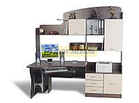 Угловой компьютерный стол со шкафом СК-14