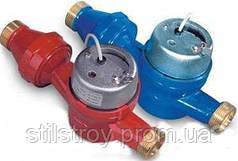 Счетчик воды (водомер) с импульсным выходом, тип JS, Ду-32, для холодной воды муфтовый, PoWoGaz-Польша