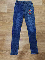 Джинсовые лосины - ДЖЕГГИНСЫ для девочек.Размер 152 см ,Seagull Венгрия, фото 1