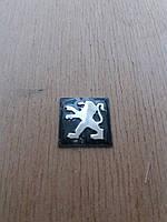 Логотип на корпус выкидного ключа зажигания Peugeot